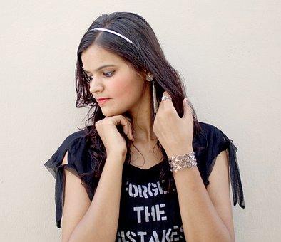 Model, Sonamprajapati, Smile, Me, Cute, People, Moe