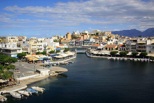 Greece, Crete, Sea, Summer, Blue, Water