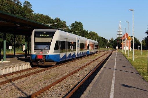 Usedomer Bäderbahn, Deutsche Bahn, Transport