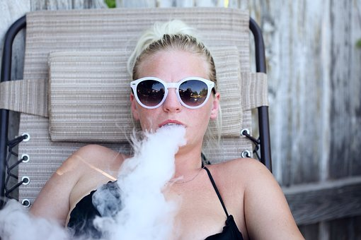 Vape, Vaping, Smoke, Woman, Lifestyle, Vaporizer, Adult