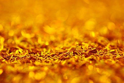 Gold, Golden, Wallpaper, Texture, Background