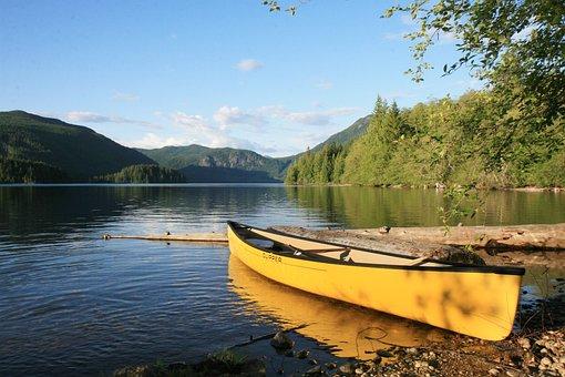Canoe, Outdoors, Water, Sport, Leisure