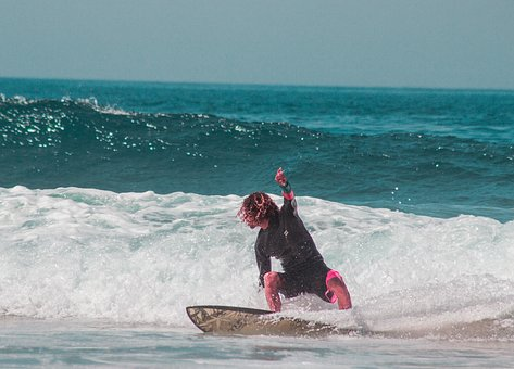 Surf, Waves, Sea