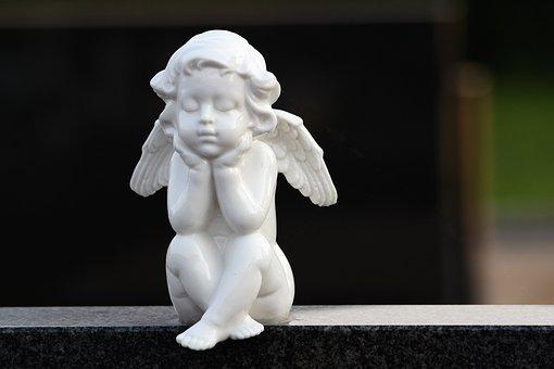 Angel, Wings, Spiritual, Figure, Sculpture, Statue