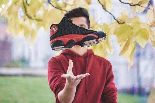 Shoe, Movement, Advertising, Jordan, One, Woman, People