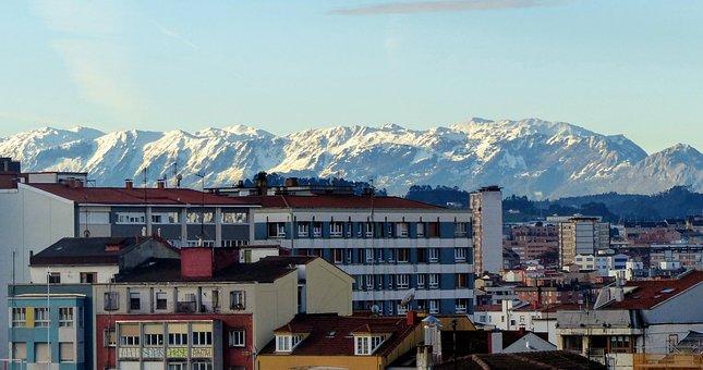La Sierra Del Aramo, Asturias, Mountains