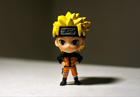 Naruto, Male, Young, Boy, Cute, Toy, Figurine, Japanese