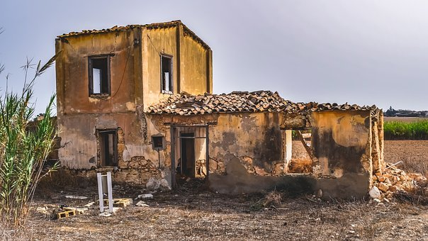 Old House, Abandoned, Building, Architecture, Decay