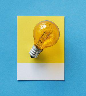 Blue, Bulb, Card, Colorful, Concept, Conceptual
