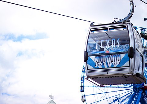 Cableway, Skyway, Fair, Texas, Fun