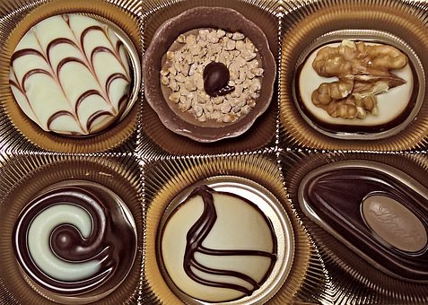 Chocolates, Confectionery, Chocolate, Confiserie, Candy
