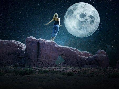 Fantasy, Dream, Landscape, Dream Landscape, Dark