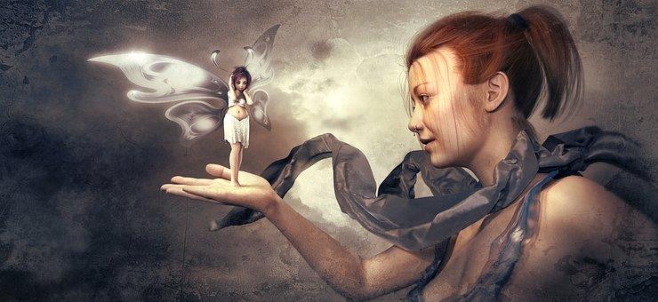 Fantasy, Elf, Girl, Magic, Fee, Mythical Creatures