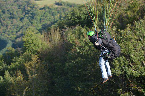 Paragliding-paraglider, Take Off, Fifth Wheel