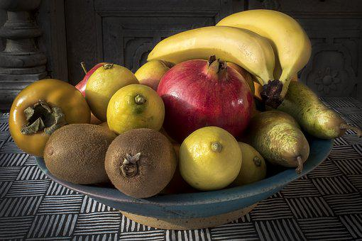 Fruit Bowl, Fruit, Vitamins, Healthy, Food, Fruits, Eat