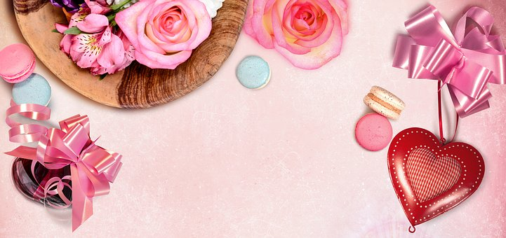 Banner, Header, Graphic, Background, Flowers, Web Page