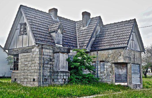 Derelict, House, Heritage, Abandoned, Ruin, Decay, Aged