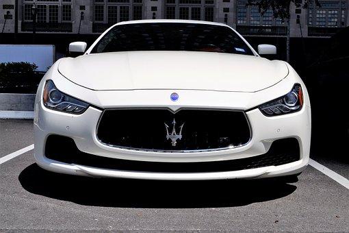 Maserati, Grand Turismo, Luxury Car, Front, Vehicle