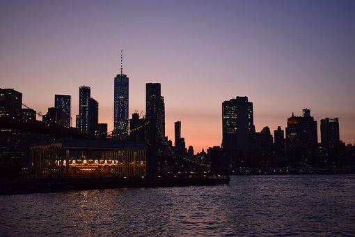 New York, Skyline, Skyscraper, Manhattan, America