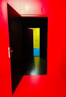 Awareness, Madness, Graphics, Door, Maze, Distance