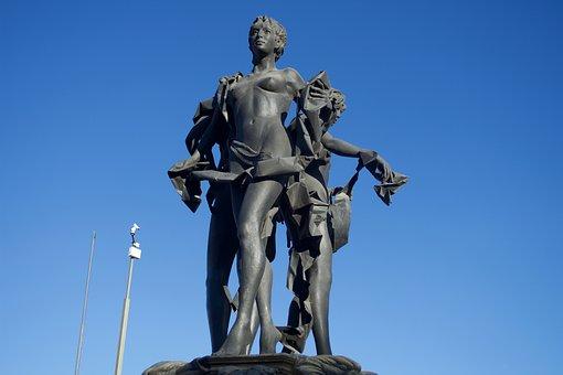 Sculpture, Statue, Figure, Mystic, Mysterious, Magic