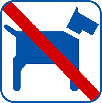 Dog, Sign, No Pets, Symbol, Pet, Dis-allowed, Canine
