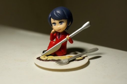 Toy, Figurine, Young, Person, Dish, Japanese, Anime