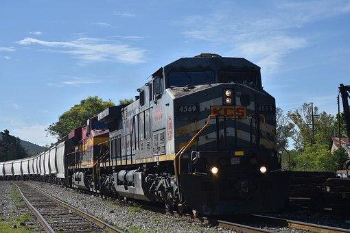 Locomotive, Train, Railway, Transport, Old