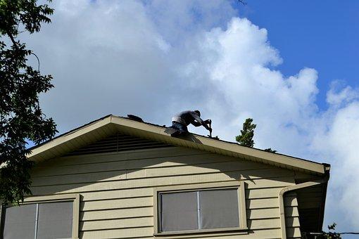 Roofing, Rooftop, Home, Repair, Improvement