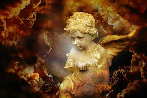 Angel, Cherub, Religion, Spirit, Divine, Heavenly