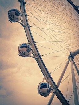 High Roller, Las Vegas, Attraction, Ferris Wheel, Steel