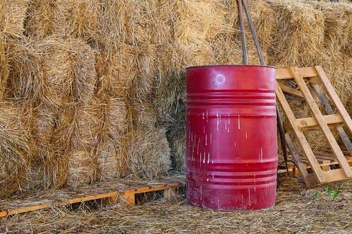Straw, Harvest, Agriculture, Straw Bales, Stock