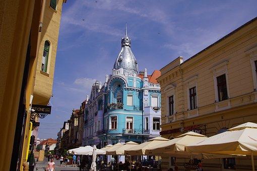 Romania, Oradea, Transylvania, Crisana, The Centre Of