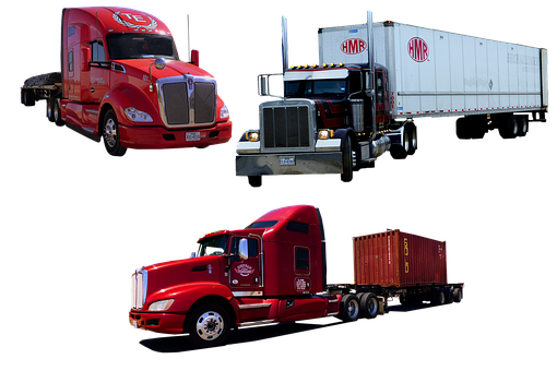 Truck, American, Transport, Traffic, Classical