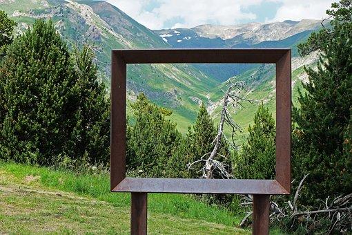 Andorra, Viewpoint Roc Del Quer, Landscape, Mountain
