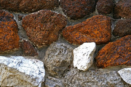 Natural Stone Wall, Wall, Stone Wall, Stones, Masonry