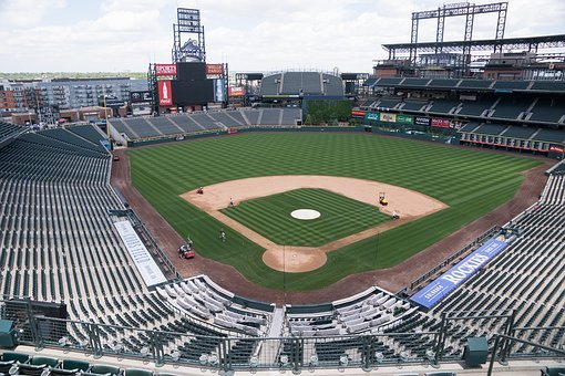 Baseball Stadium, Denver, Coors Field, Baseball, Empty
