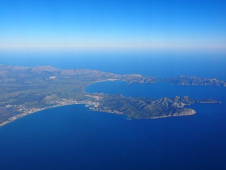 Mallorca, Bay Of Pollenca, Bay Of Alcudia, Bay, Coast
