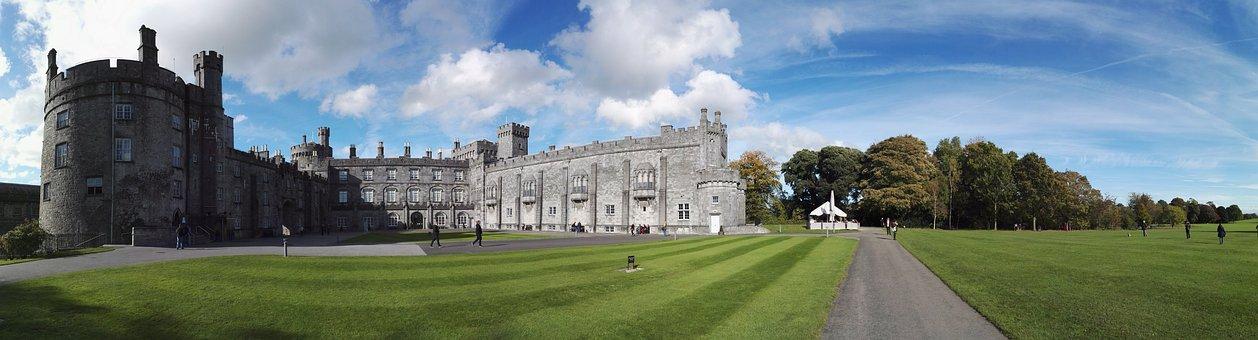 Kilkenny Castle, Kilkenny, Castle, Ireland, Building