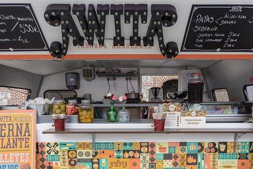 Fast Food, Car, Restaurant, Bar, Cafe, Coffee, Urban