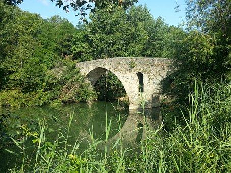 Jakobsweg, Camino De Santiago, Pilgrimage, Bridge