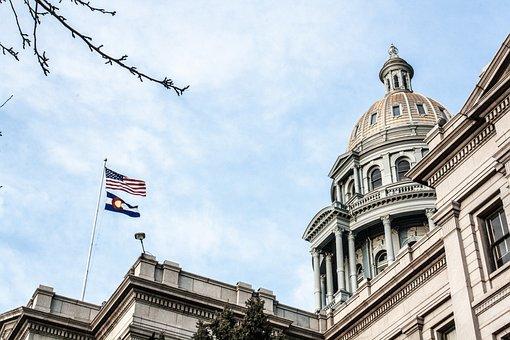 Denver, Colorado, Capitol, Downtown, Urban