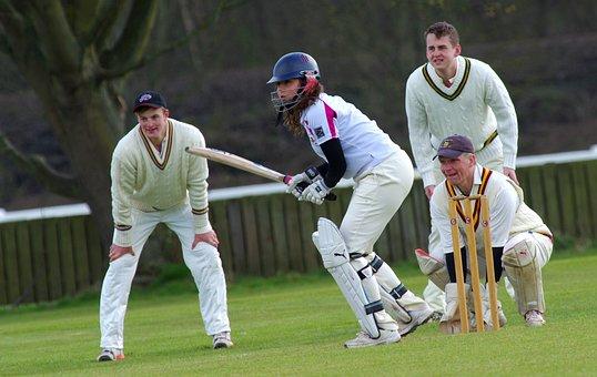 Cricket, Batting, Bat, Batsman, Sport, Player