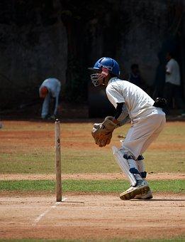 Wicket Keeper, Sports, Cricket, Wicket, Keeping
