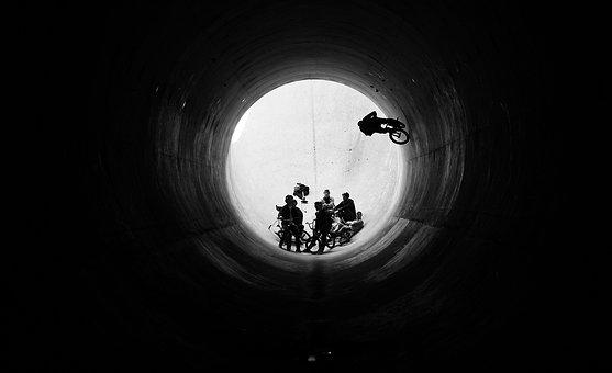 Bmx, Fullpipe, Denver, Bike, Extreme, Action, Sports