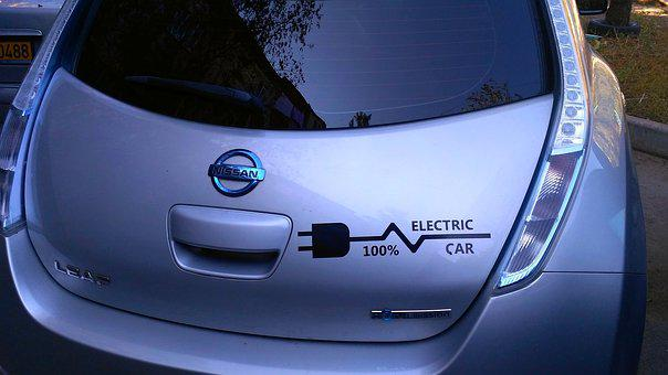 Electric Car, Ecology, Electric, Nissan Leaf, Auto, Car