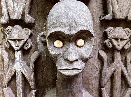 Sculpture, Statue, Voodoo, Zombie, Horror, Fear, Eyes