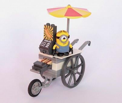 Minions, Hot Dog, Seller, Fig, Sell, Toys, Fun