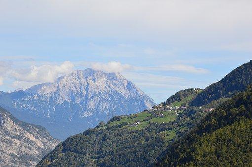 Haiming, Haimingerberg, Tyrol, Mountains, Austria