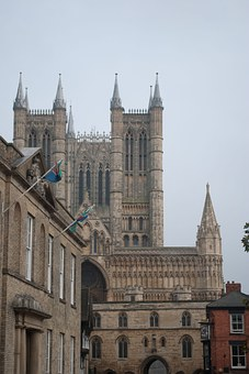 Cathedral, Lincoln, Historic, Religion, Medieval